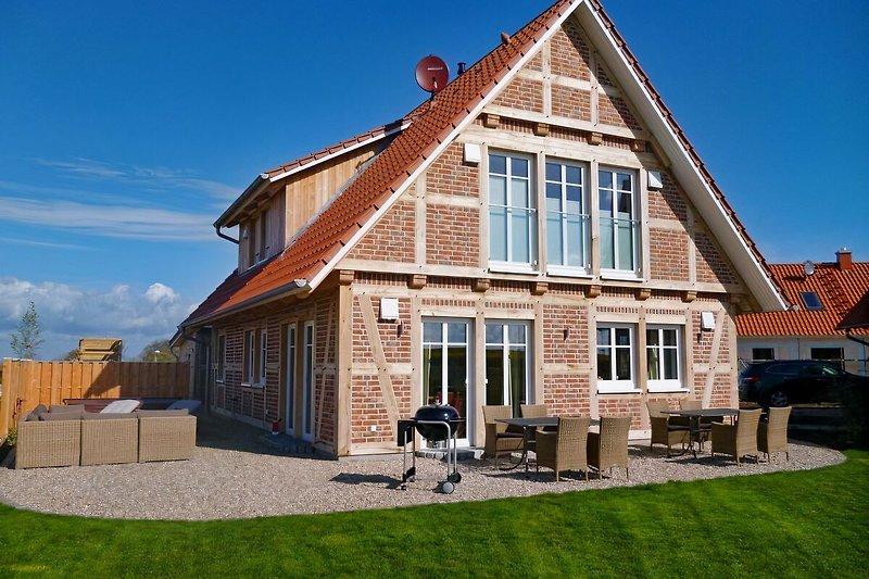 Das Landhaus mit Whirlpool, Terrasse und Garten