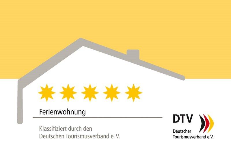 DTV-Klassifizierung mit 5 Sternen