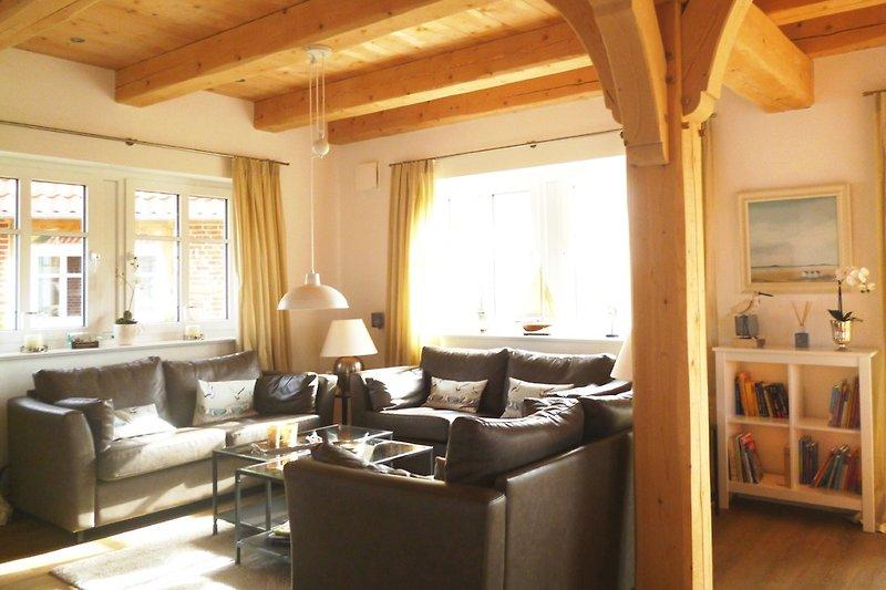 2 wellness landh user neu 16 pers ferienhaus in gro for Ideales fachwerk