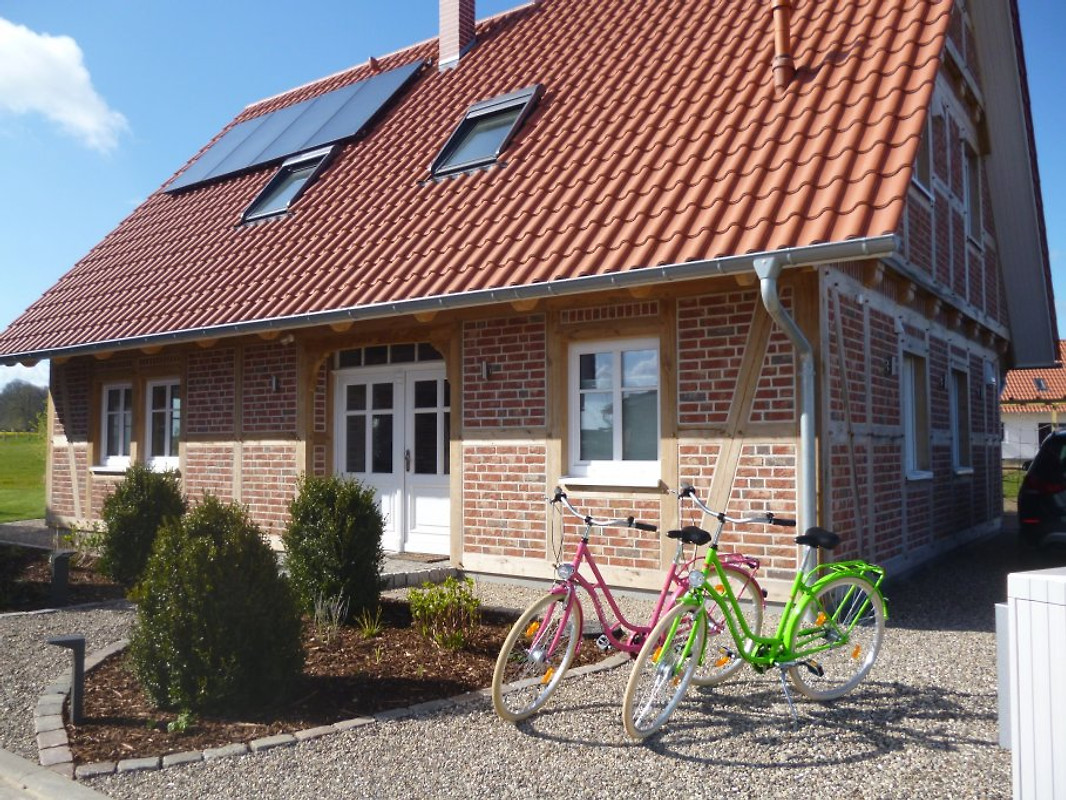 Wellness landhaus 4 jahreszeiten ferienhaus in gro for Ideales fachwerk