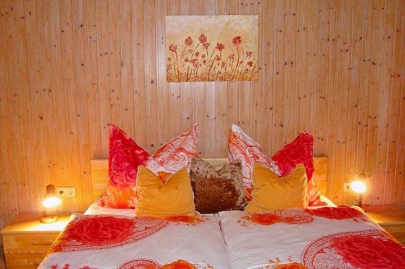 komfortable Schlafzimmer