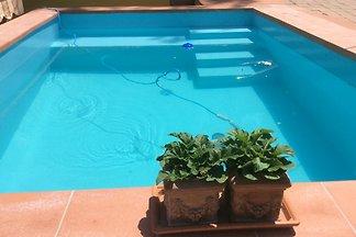 Villa Toskana 120 m vom Meer- Pool