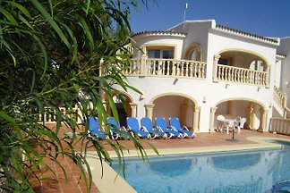 Moraira Villa Cometa mit priv Pool