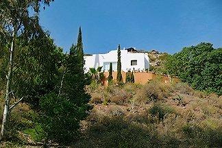 Haus mit Meerblick oberhalb eines andalusischen Fischerdorfes (Las Negras)