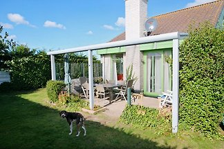 NEW: peace and tranquility in holiday park Strandslag, wi-fi, dishwasher, dog, beach