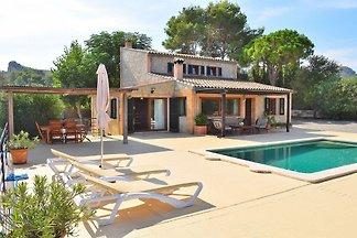 Oscols Alcúdia villa con piscina y chill out...