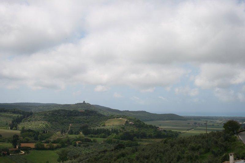 Panorama vom Garten