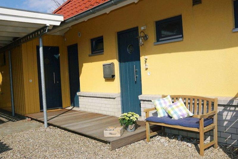 Det gule Hus Eingangsbereich