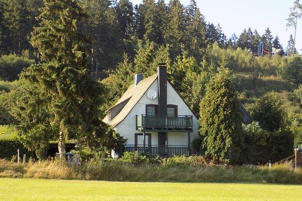 Ferienhaus im Sommer