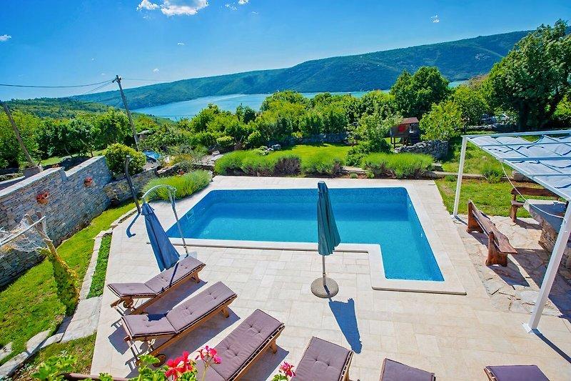 Villa Targeto in Istria