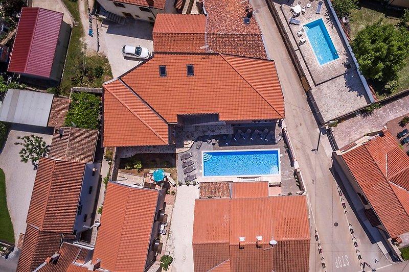 Noa mit Pool, Istrien, Kroatien