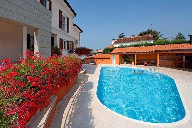Ferienwohnung Irena mit Pool III