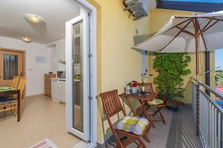 Apartment for 4 persons with air condition, Wi-Fi, washing machine and parking