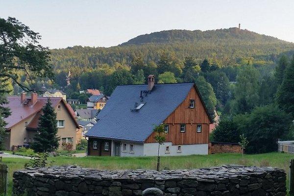 unser Haus mit Blick zum Hochwald