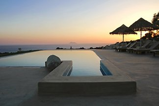 New luxury villa Komos on the beach