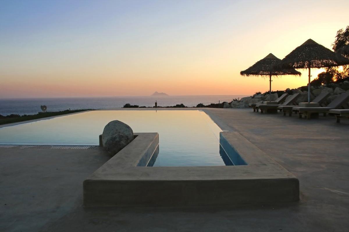 neue luxus villa komos am strand ferienhaus in pitsidia