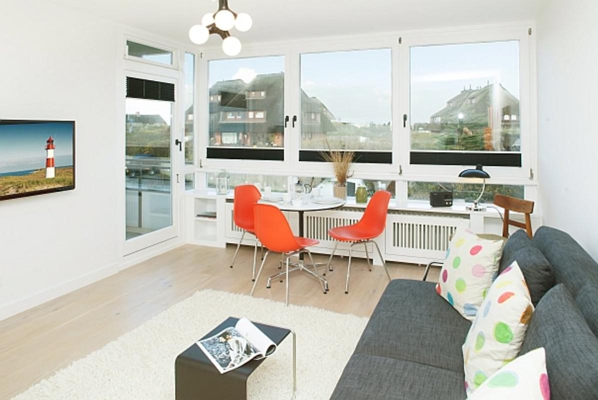 appartement z richsylt ferienwohnung in list mieten. Black Bedroom Furniture Sets. Home Design Ideas