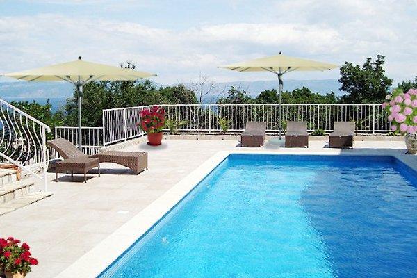 Villa Bella Vista Paradiso con piscina in Ravni - immagine 1