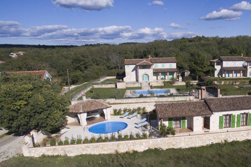 Anlage der kleinen Villa