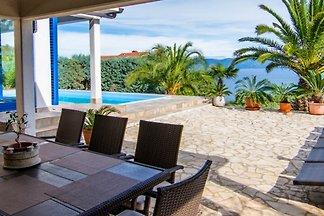 Villa Saska mit besten Meerblick