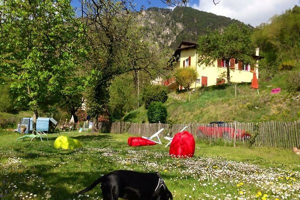 Hundeurlaub Gardasee Villa Casa Brasa