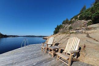 Ferienhaus am Fjord- eigener Strand