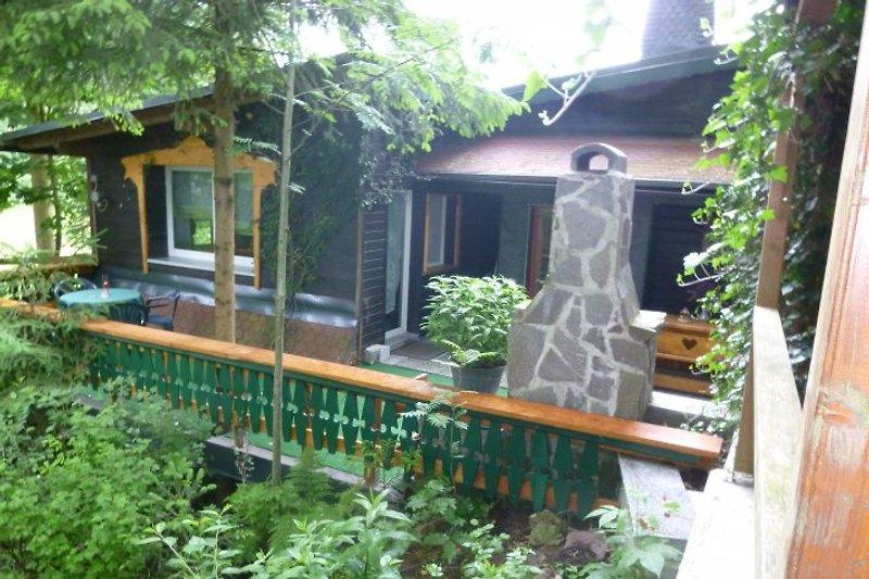 Das Ferienhaus mit großer Terasse und Grill