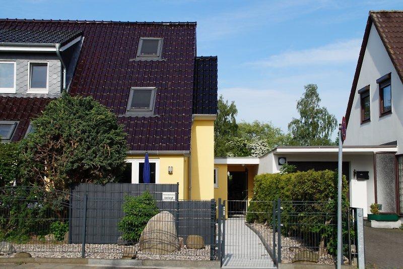 Zugang und Terrasse
