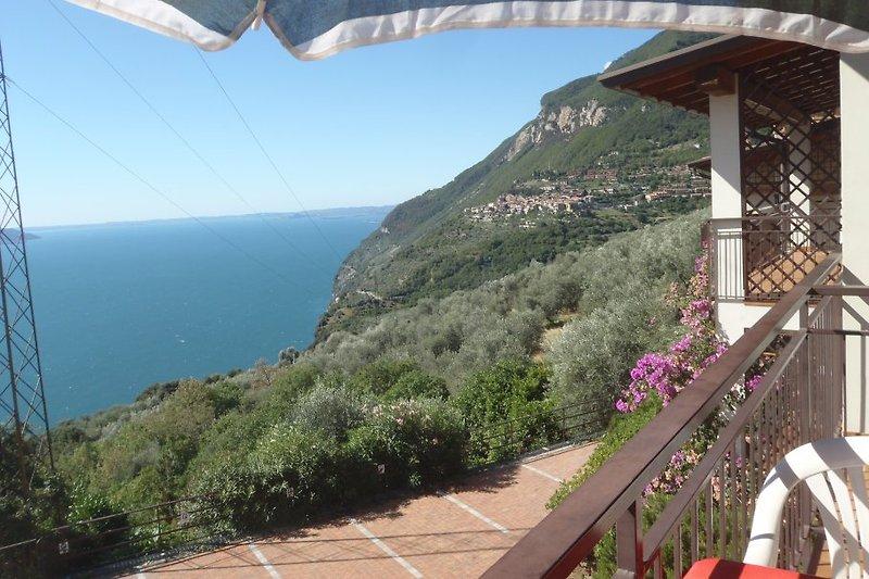 Seeblick vom Balkon