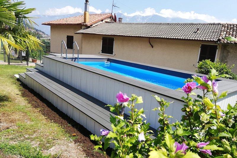 Neuer Pool in der Casa Mary