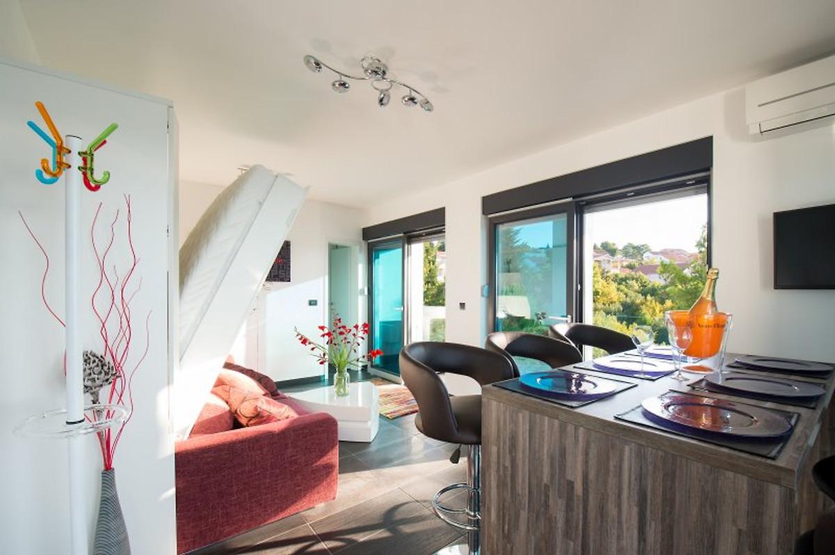 Design Beach Resort Penthouse Ferienwohnung In Zadar Mieten