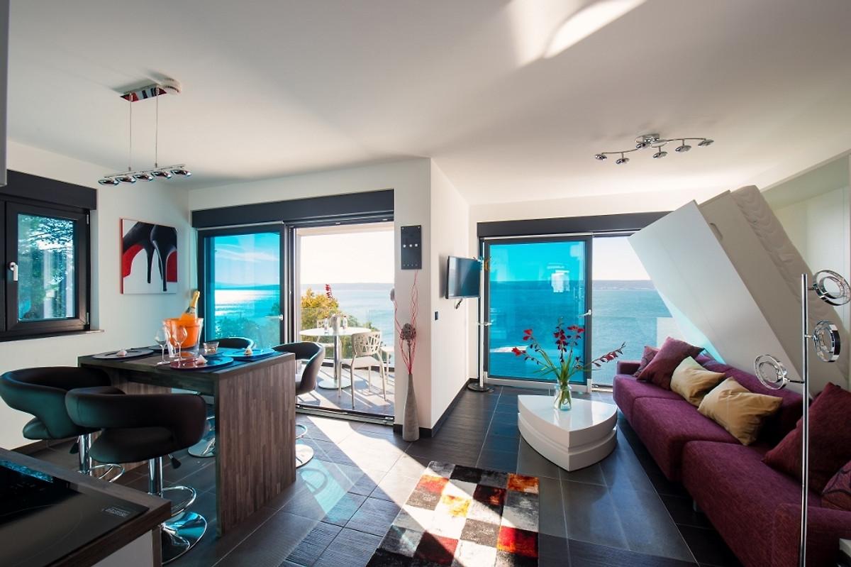 Beach Resort Luxus Apartment In Maslenica Firma Designer Chalets