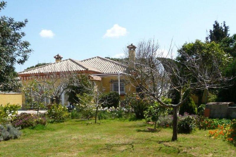 Das Ferienhaus mit großem Garten
