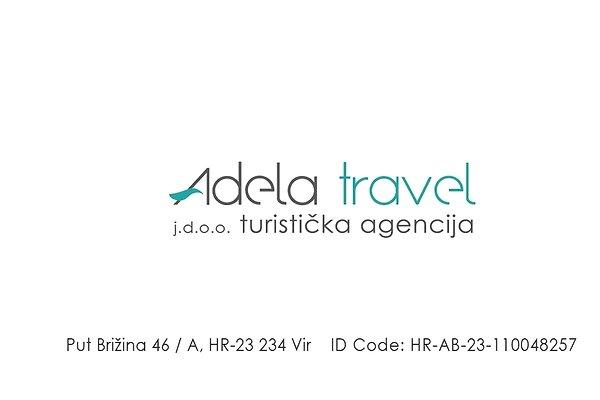 "<span style=""font-size:smaller;"">Firma Adela travel j.d.o.o.</span><br> Frau Turković"