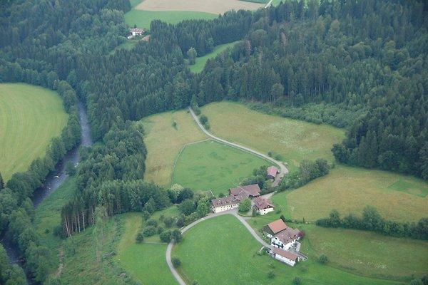 Luftbild Ferienhof Schmauß
