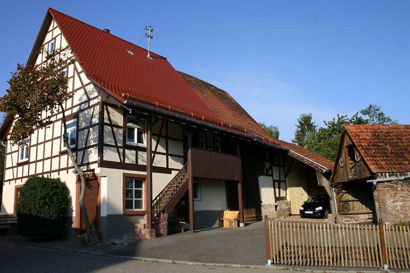 Unser frisch renoviertes, denkmalgeschütztes Fachwerkhaus