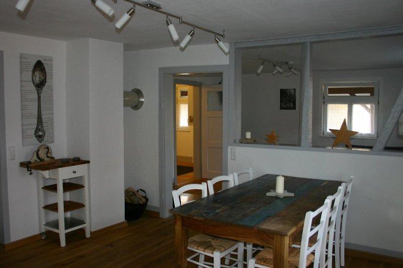 alte wagnerei ferienhaus in neuhausen mieten. Black Bedroom Furniture Sets. Home Design Ideas