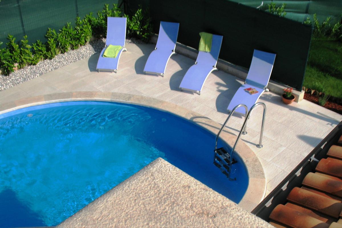 Zwembad In Huis : Huis contessa met zwembad in poreč bedrijf k poropat