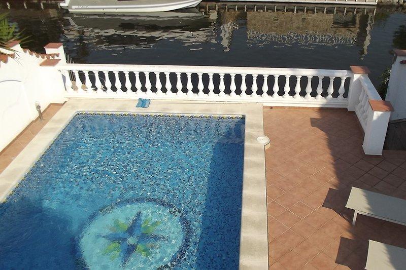 Pool und Poolbereich