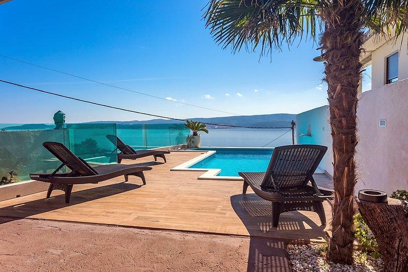 Villa Casa del Mar mit privatem, beheiztem Pool und Meerblick