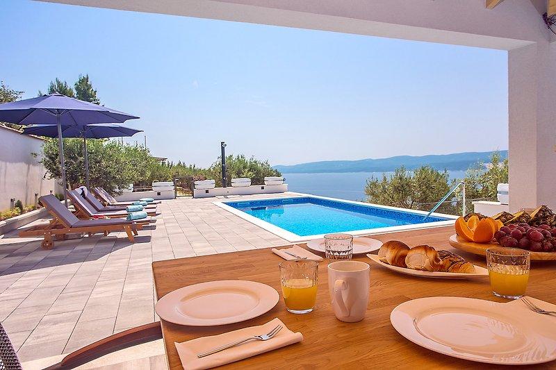 Villa Dream mit privatem Pool, 2 Schlafzimmer, 6 Personen max