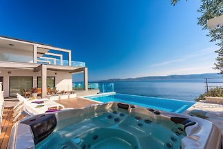 Luksuzna vila Hrid privatno, pogled na ocean