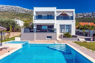 Seaview Villa Stanka with Pool
