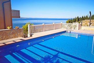 Villa Ana mit Pool, 18 Personen max