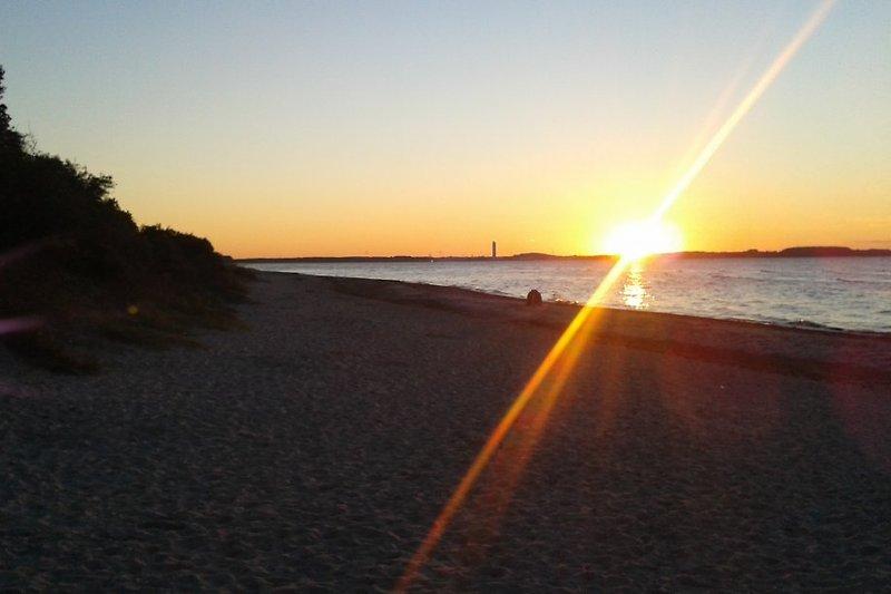 Sonnenutergang am Strand