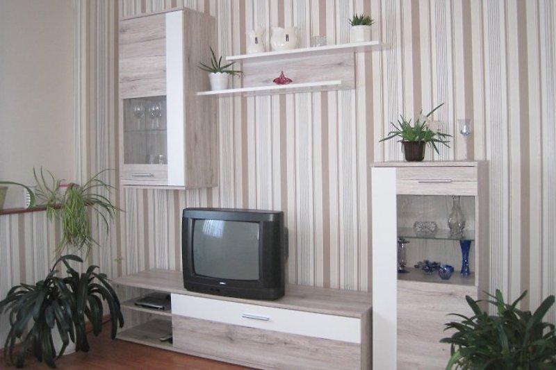 Wohnzimmer mit SAT Tv