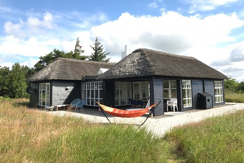 Architektenhaus mit sea view am Ringkøbing Fjord