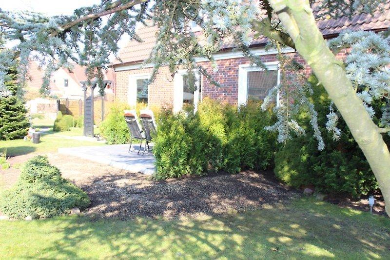 eigener Gartenbereich
