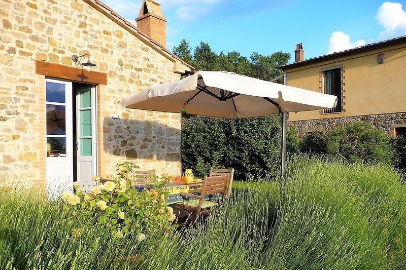 Capitorio, private Terrasse, Garten