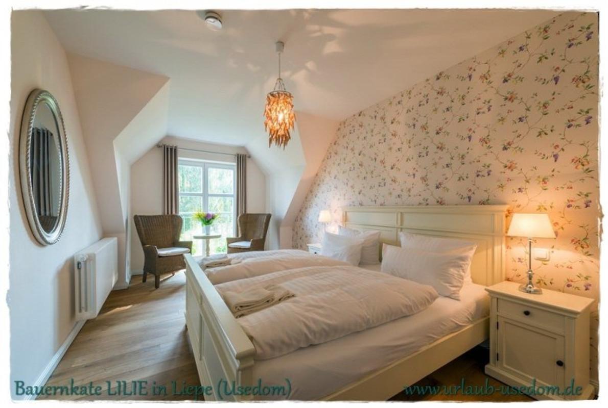 Bauernkaten in liepe ferienhaus in liepe mieten - Schlafzimmer ausstattung ...
